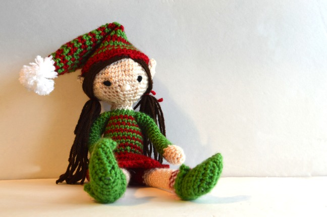 Knitting Pattern For Elf On The Shelf : Crochet: Elf on the Shelf chelsiebrady