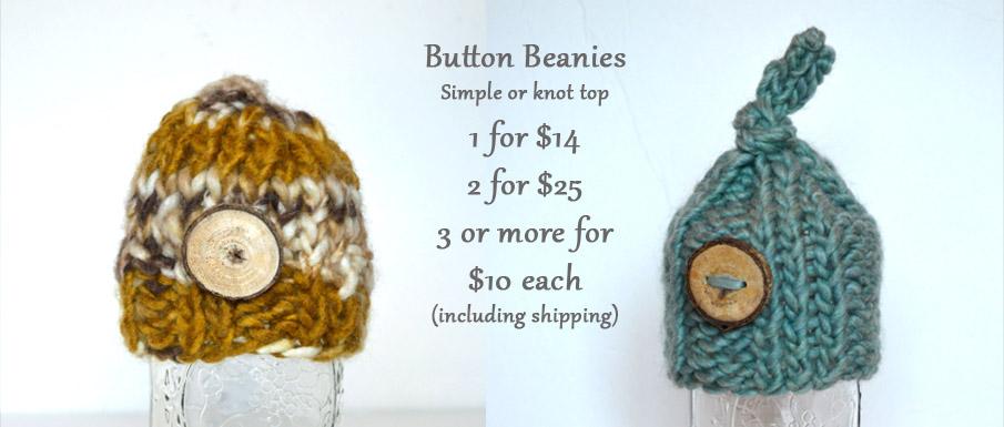 Button Beanies
