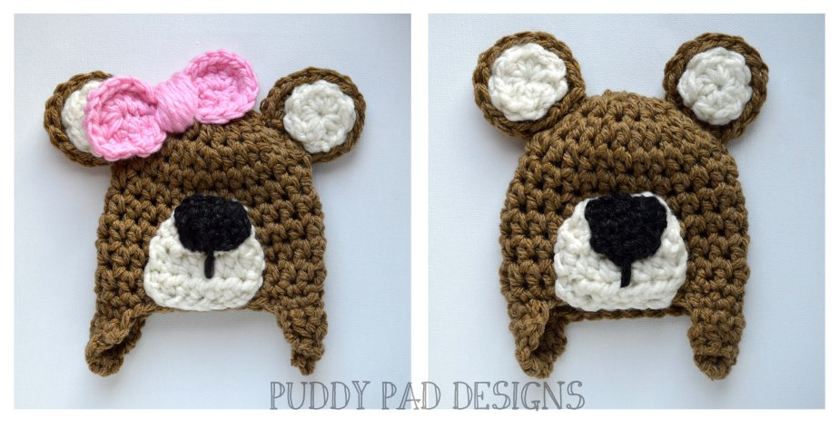 Teddy Bear beanies ppd
