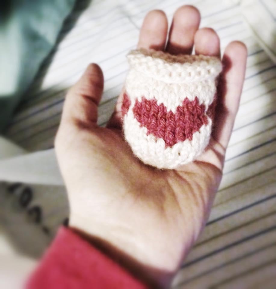 lip balm holder hearts