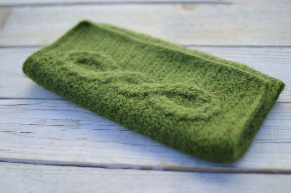 Felting a Crocheted Purse | Aisling Clutch by Briana K Designs