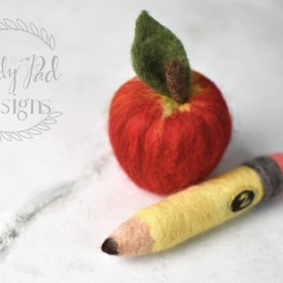 Felting Tutorial | Apple